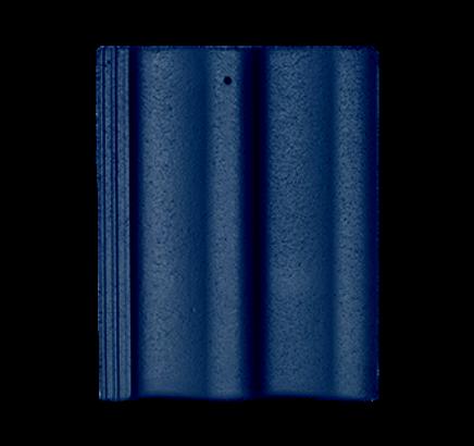 Цементно-песчаная черепица Sea Wave синий