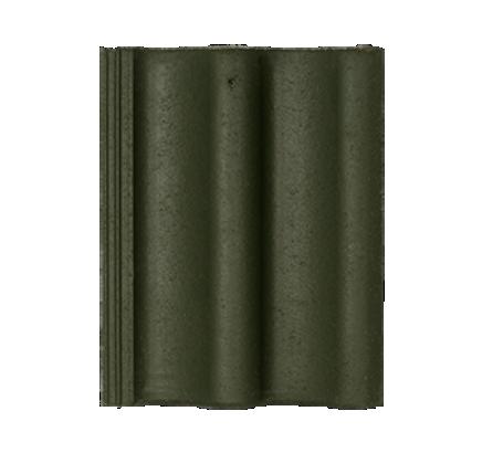 Цементно-песчаная черепица Sea Wave зеленый