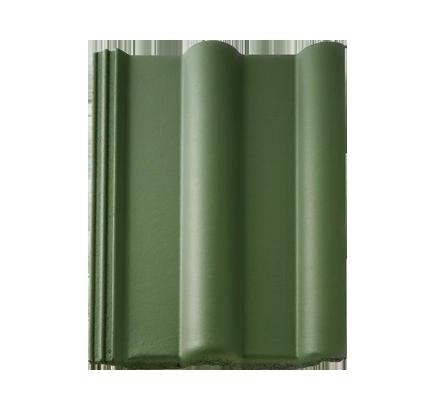 Цементно-песчаная черепица Braas Франкфуртская зеленый