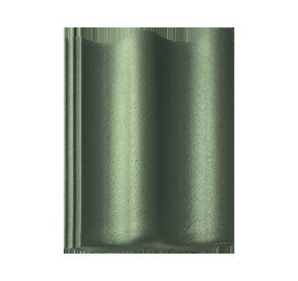 Цементно-песчаная черепица Braas Янтарь зеленый