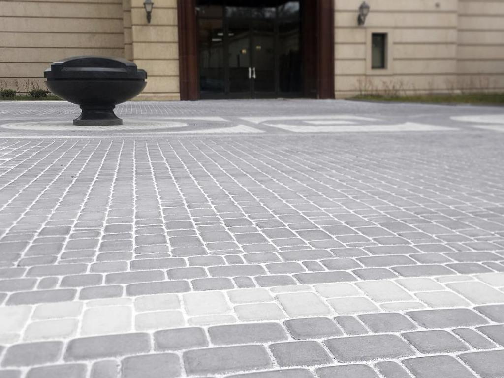 Тротуарная плитка Braer Классико серый