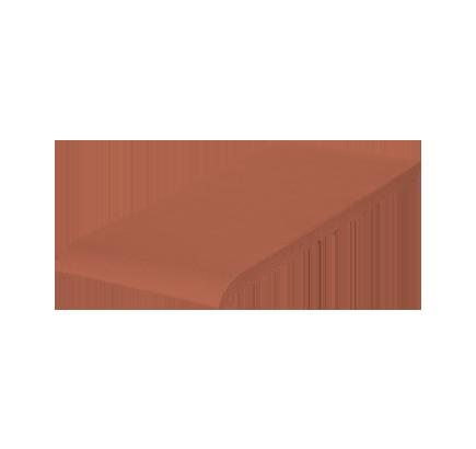 Клинкерный подоконник King Klinker красный (01), 245х120х15 мм