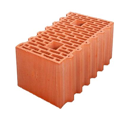 Керамический блок Porotherm GL 12,4 NF