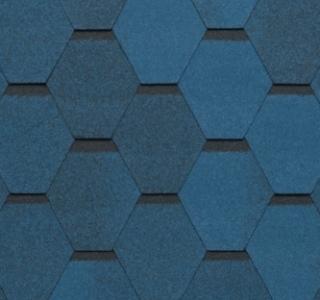 Гибкая черепица Tegola Нордик синий