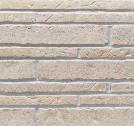 Клинкерная фасадная плитка Stroeher Zeitlos 351 kalkbrand, 400х71 мм