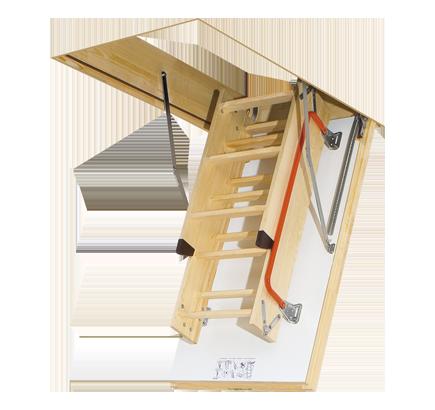 Чердачная лестница Fakro LTK, 70х130х280 см