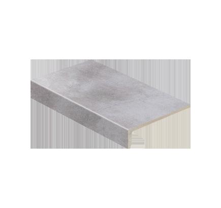 Клинкерная ступень прямоугольная Stroeher Aera T 705 beton, 294х175 мм