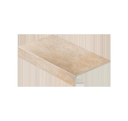 Клинкерная ступень прямоугольная Stroeher Aera 725 faveo, 294х175 мм