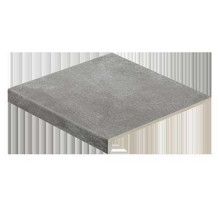 Клинкерная ступень прямоугольная Stroeher Aera 710 crio, 294х340 мм
