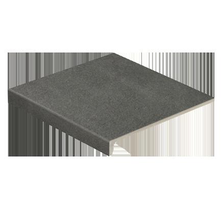 Клинкерная ступень прямоугольная Stroeher Asar 645 giru, 294х340 мм