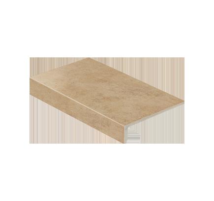 Клинкерная ступень прямоугольная Stroeher Asar 635 gari, 294х175 мм