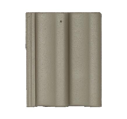 Цементно-песчаная черепица Sea Wave серый