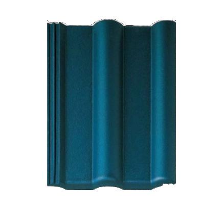 Цементно-песчаная черепица Braas Франкфуртская синий