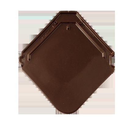 Керамическая черепица Braas Izumrud тик коричневый