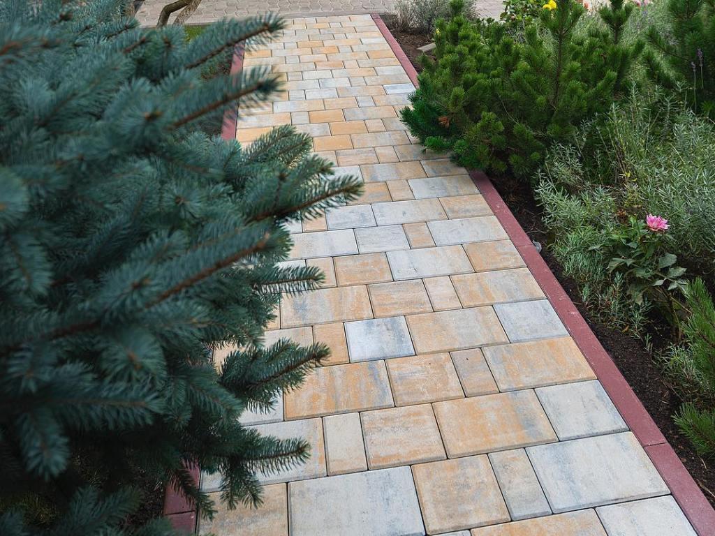 Тротуарная плитка Braer Мозаика песчаник