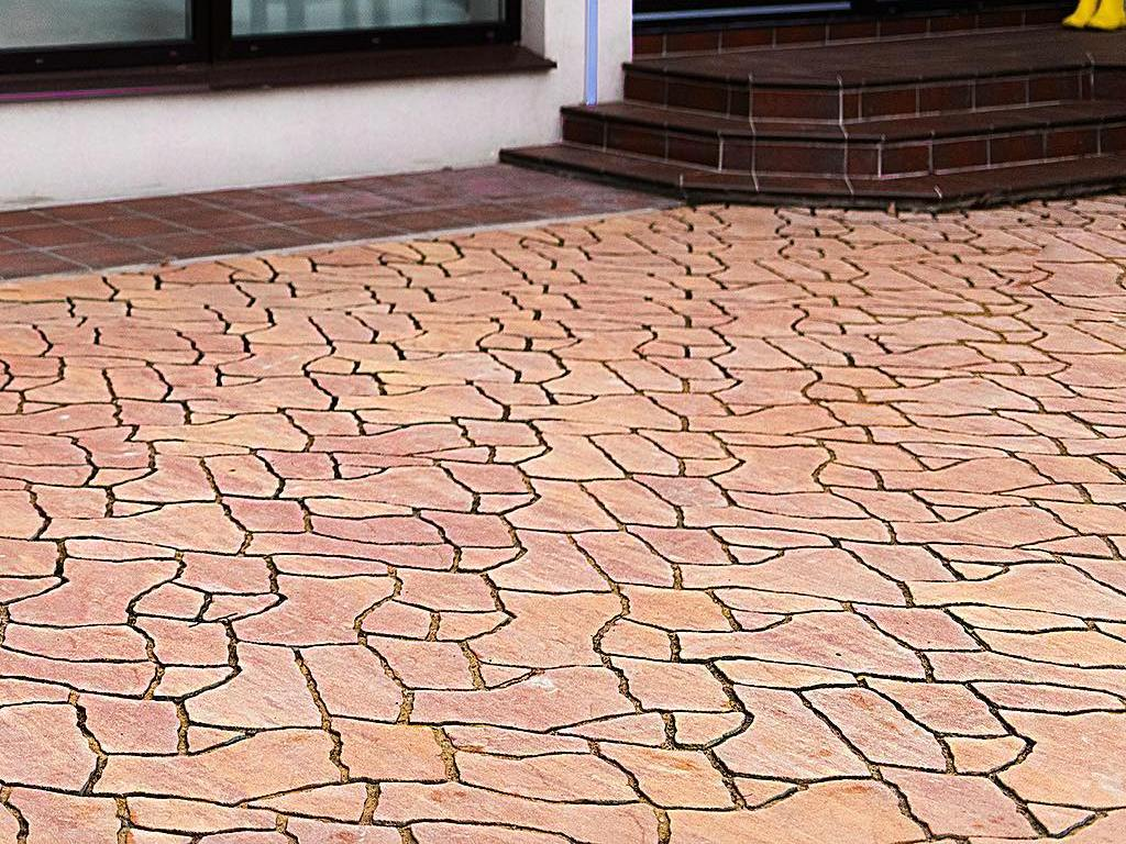 Тротуарная плитка Braer Сан-Тропе ColorMix 1 «Каньон»