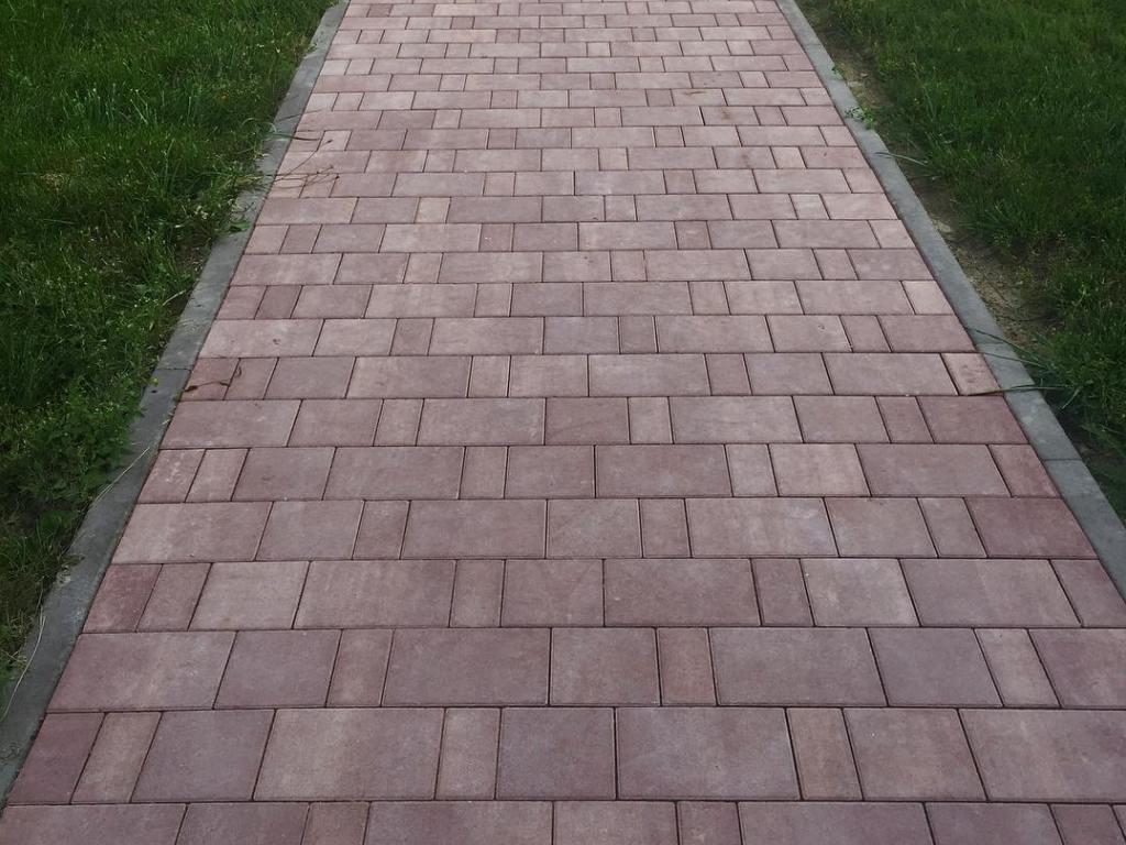 Тротуарная плитка Braer Старый Город Ландхаус ColorMix 19 «Эверест», 80 мм