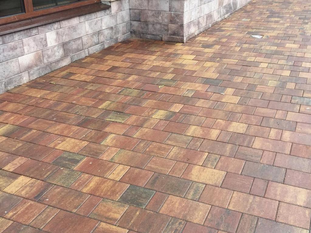 Тротуарная плитка Braer Старый Город Венусбергер ColorMix «Мальва»