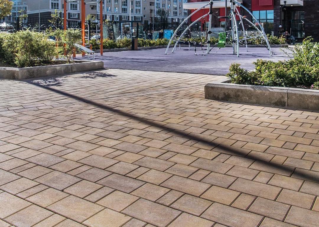 Тротуарная плитка Braer Старый Город Ландхаус ColorMix 17 «Прайд», 80 мм