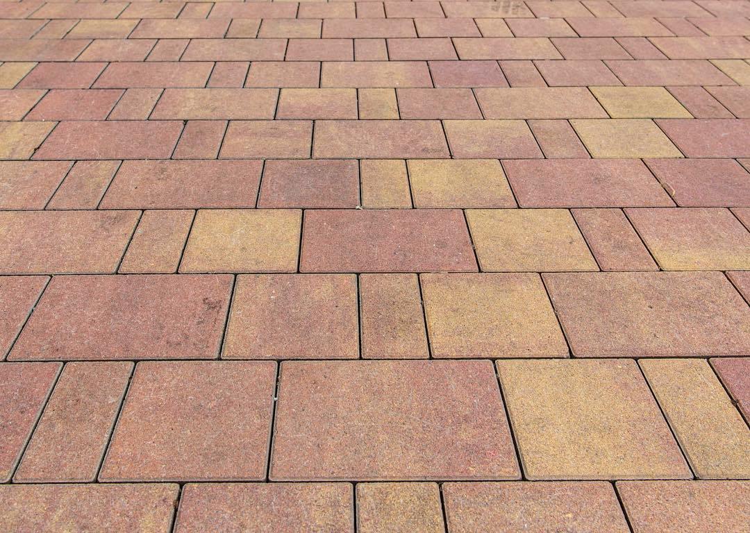Тротуарная плитка Braer Старый Город Ландхаус ColorMix 10 «Рассвет», 80 мм