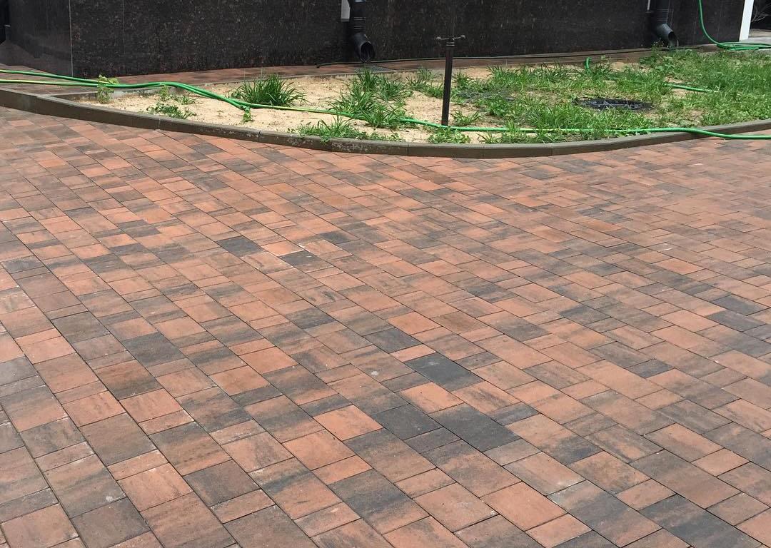 Тротуарная плитка Braer Старый Город Ландхаус ColorMix 5 «Техас»