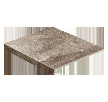 Клинкерная ступень прямоугольная Stroeher Epos 957 kawe, 294х340 мм