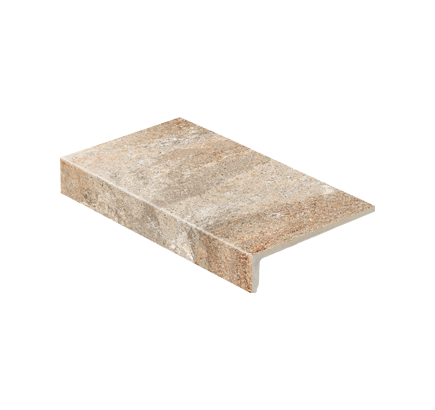 Клинкерная ступень прямоугольная Stroeher Epos 955 eres, 294х175 мм