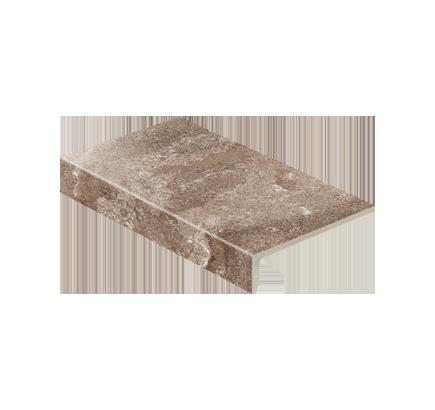 Клинкерная ступень прямоугольная Stroeher Epos 957 kawe, 294х175 мм