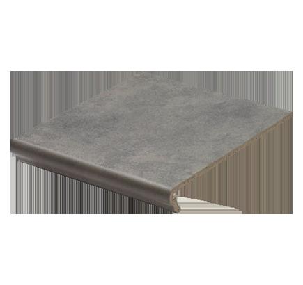 Клинкерная ступень флорентинер Euramic Cavar 543 fosco, 294х340 мм