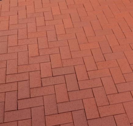 Тротуарная клинкерная брусчатка Feldhaus Klinker 402 gala plano SKF