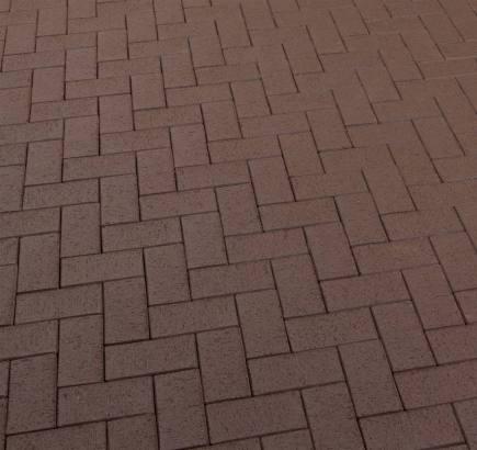 Тротуарная клинкерная брусчатка Feldhaus Klinker 502 umbra plano KF