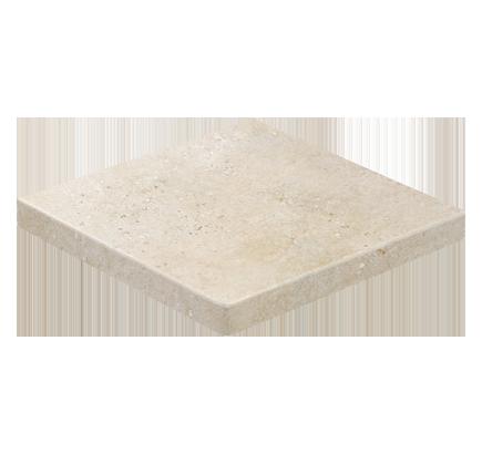 Клинкерная ступень прямоугольная угловая Stroeher Gravel Blend 960 beige, 340х340 мм