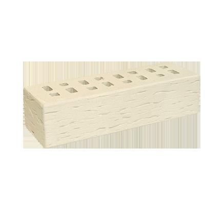 Кирпич клинкерный ЛСР белый «Неаполь» береста