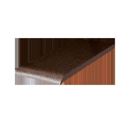 Клинкерный подоконник King Klinker коричневый глазурь (02), 310х120х15 мм