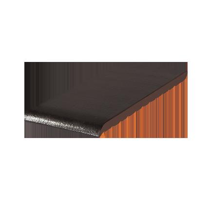 Клинкерный подоконник King Klinker ониксовый черный (17), 280х120х15 мм