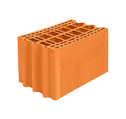 Керамический блок Porotherm 10,5 NF, 250х375х219 мм
