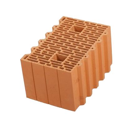 Керамический блок Porotherm 10,7 NF, 380х250х219 мм