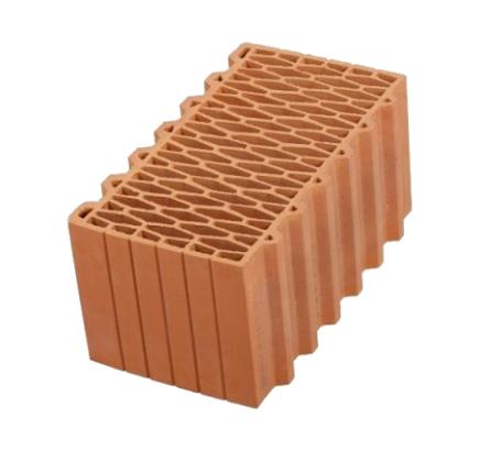 Керамический блок Porotherm 12,4 NF, 440х250х219 мм