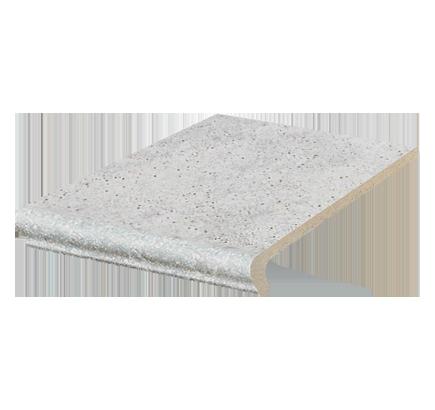Клинкерная ступень флорентинер Stroeher Roccia 837 marmos, 294х340 мм