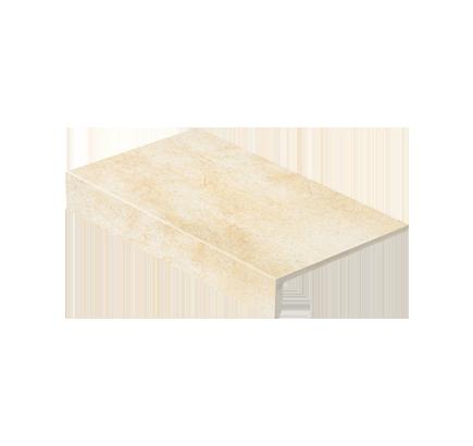 Клинкерная ступень прямоугольная Stroeher Roccia X 920 weizenschnee, 294х175 мм