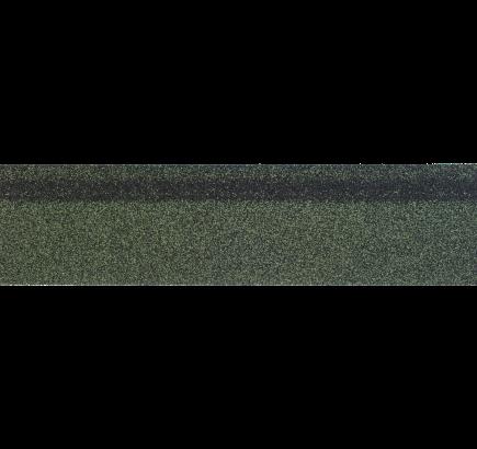 Коньково-карнизная черепица Shinglas зеленый