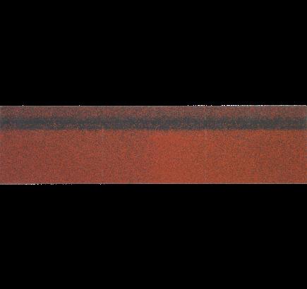 Коньково-карнизная черепица Shinglas красный