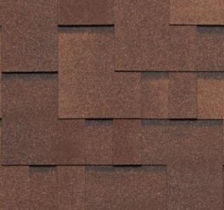 Гибкая черепица Tegola Альпин коричневый